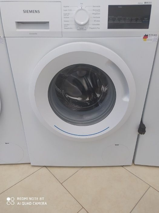 Siemens iQ300 WM14N2A0 перална машина челен товарач / A +++ / 1390 об гр. Бургас - image 1