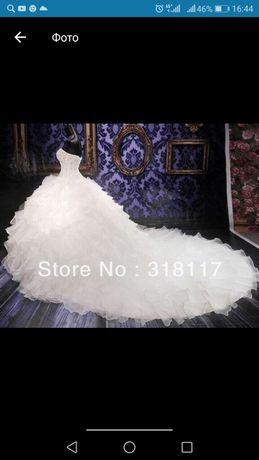 Продам свадебное платье 44р