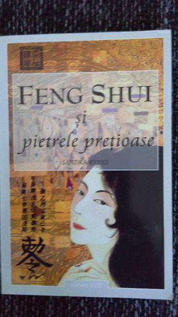 """Vând """"Feng Shui și pietrele prețioase"""" de Sandra Kynes"""