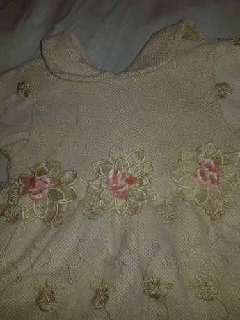 Детска рокля 3/6 месеца