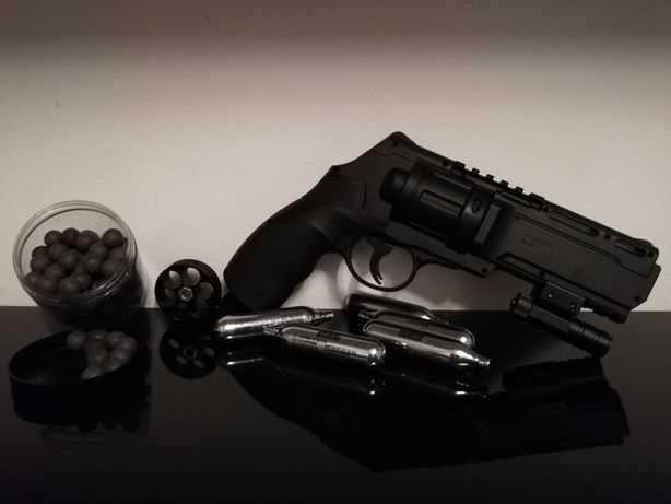 Pistol Airsoft Auto/Aparare Bile CAUCIUC Putere 20j