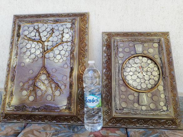 3 Д картини, ръчно изработени от царски монети