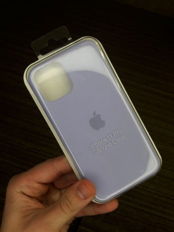 iphone 11 pro силиконовый чехол на iPhone 11 Pro софт тач сиреневый