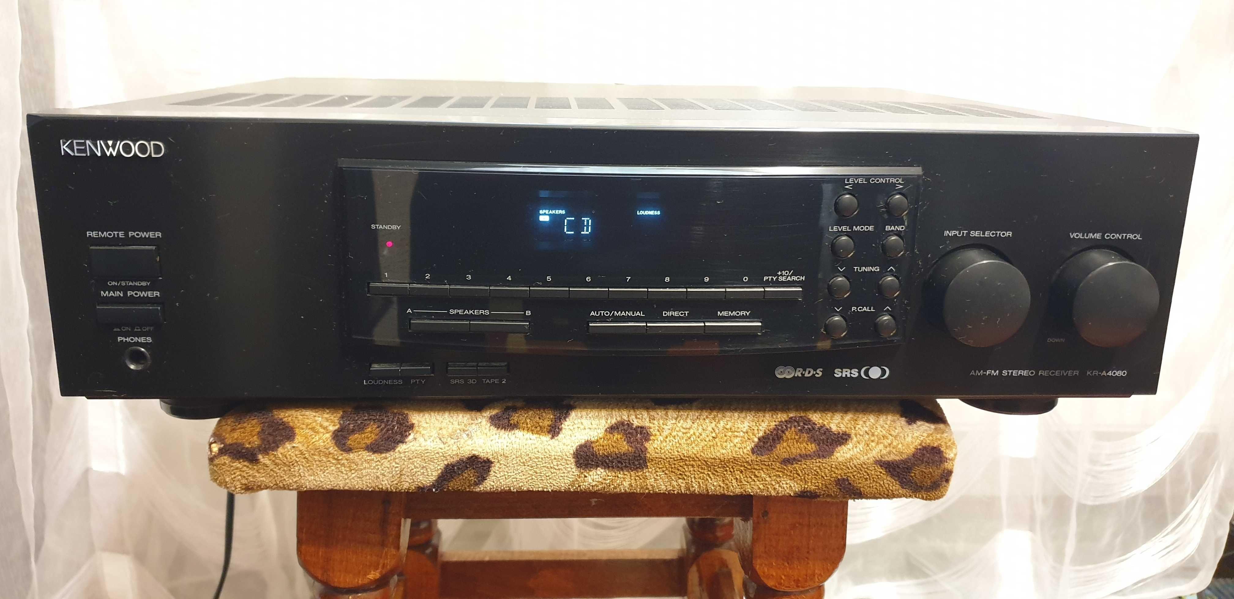 Amplificator Audio Kenwood KR-A4080 Statie Audio Amplituner