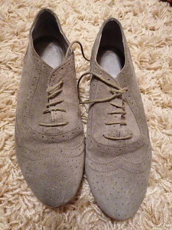 Pantofi piele întoarsă 36