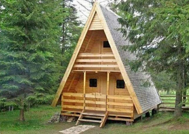 Vând căsuța făcute din lemn