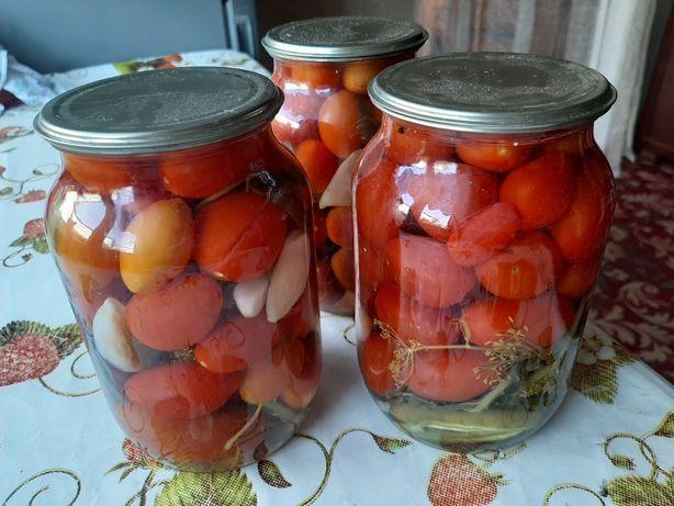 Домашние маринованные помидоры 1 л