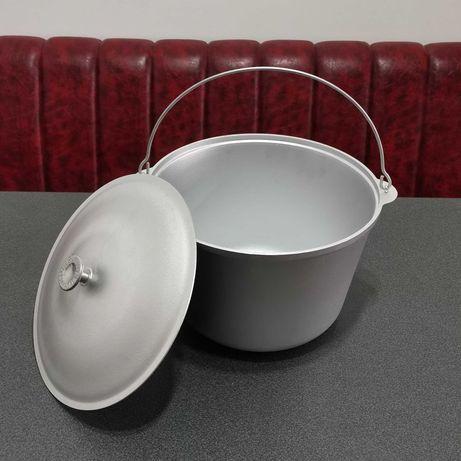 Ceaun aluminiu 30 L cu capac import Ucraina