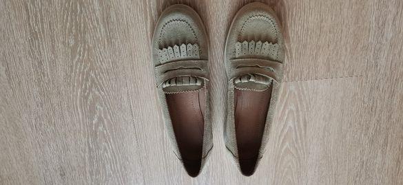 Дамски обувки, естествен велур, номер 37