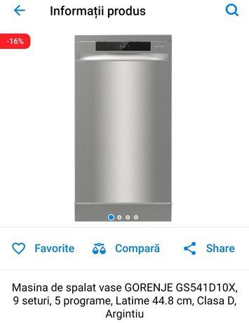 Mașina de spălat vase GORENJE GS541D10X