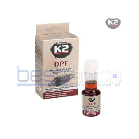 Добавка за почистване на DPF филтър K2 50ml