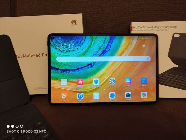 Huawei Matepad Pro 4g+tastatura /husa magnetica și mouse bluetooth