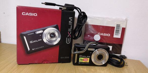 фотоапарат Casio пълен комплект като нов
