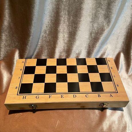 Шахматы 3 в 1 (шашки и нарды)