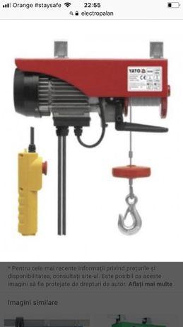 Electropalan-Macara electrica 125/250kg