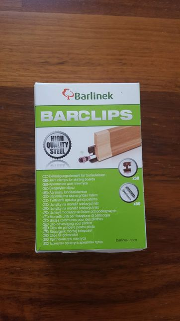 Clipsuri plinta Barlinek