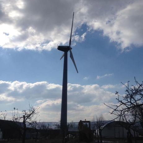 Turbina eoliana 250 KW. Kit complet.
