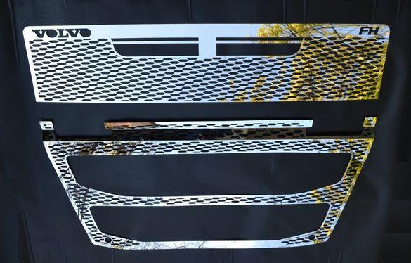 Декорация предна решетка, 2 части - за Volvo FH4 (2013-)ESK195