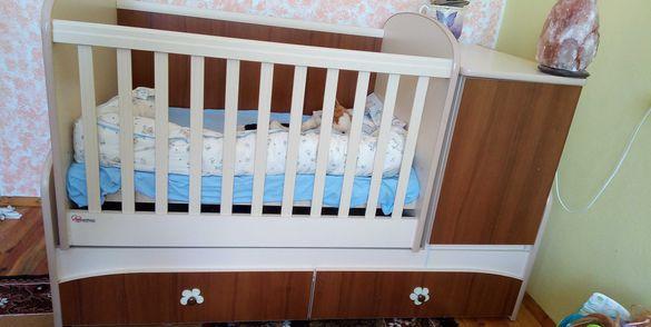 Детско креватче- трансформируемо
