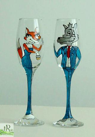 Шеговити чаши за кумове