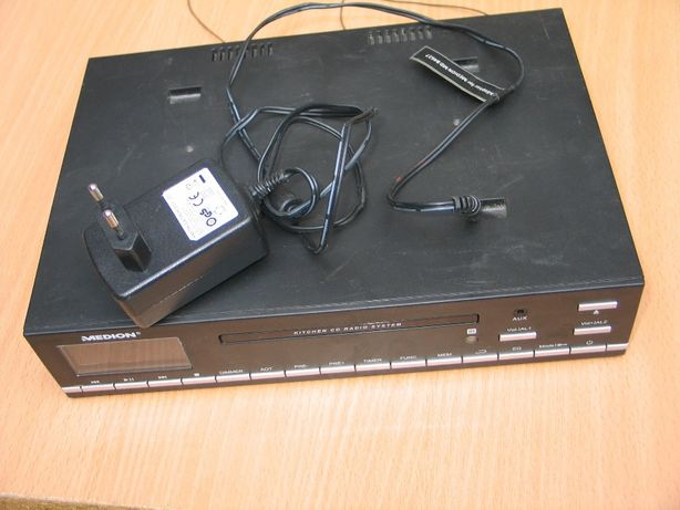 radio cd cu ceas de bucatarie MEDION