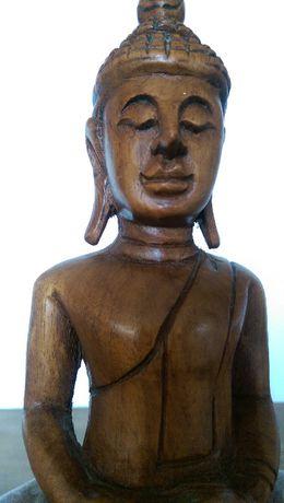 Индийска дървена фигура