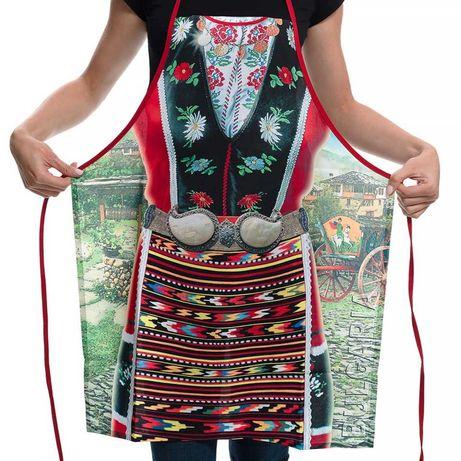 Готварска престилка Народна носия-страхотна дамска забавна престилка