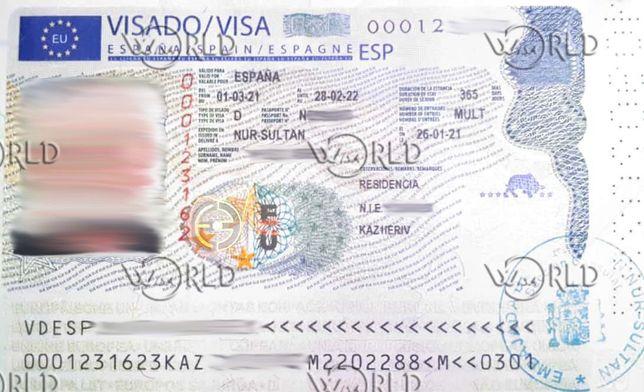 Визы шенген, краткосрочные, долгосрочные мультивизы.
