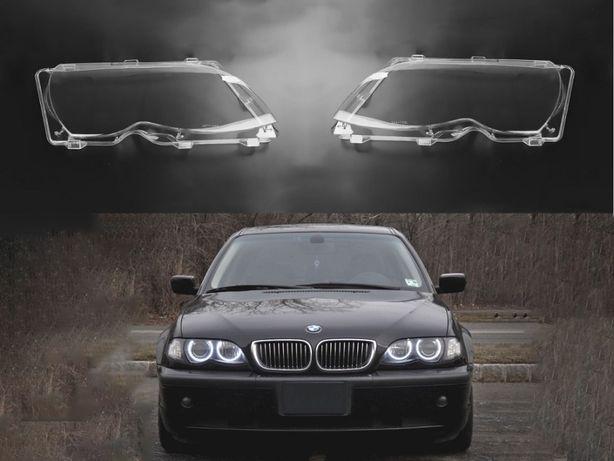 Sticla far BMW 3 E46 Facelift LCI (2001-2005) - 4 usi Capac Geamuri