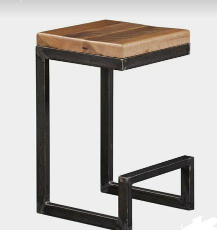 Бар столове от желязо и дърво