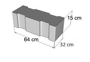Capac / Placa rigola carosabila de 64 cm dublu armat