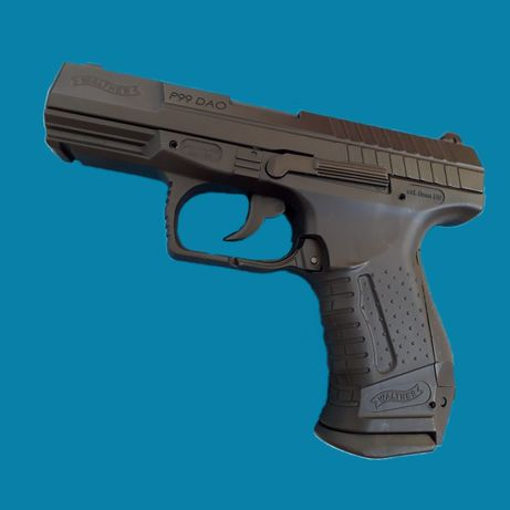 CEL MAI PUTERNIC PISTOL AIRSOFT din RO 4.5j Walther P99Dao full metal