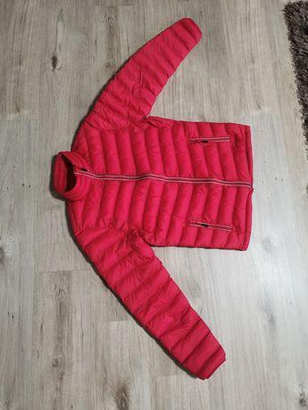 Geaca iarna sport roșie mărimea M