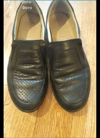 Туфли (кожа) фирма Chessford размер 37и 36