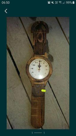 Ceas din lemn ceas