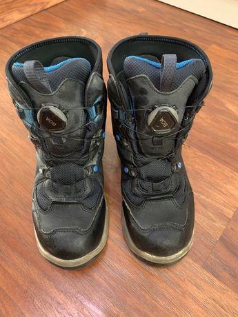 Ботинки зима Ecco, 35 p., высокие