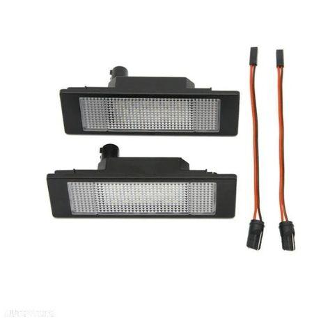 2 Lampi Numar Bmw E63 E64 E81 E85 E86 E87 650i M6 Z4 645Ci Alb 600