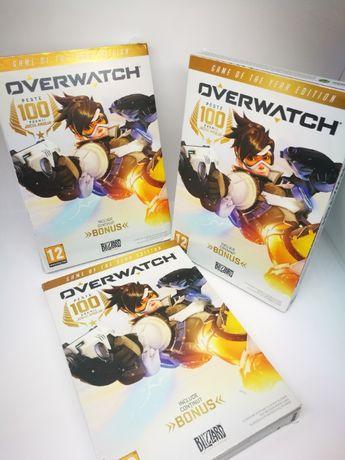 Joc PC Overwatch. Cd la cutie. FARA COD ACTIVARE! LOT 3 CD-uri.