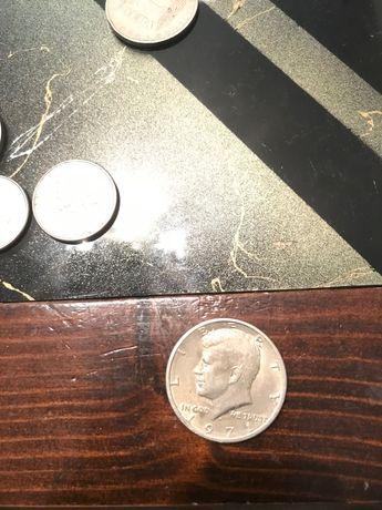 Монета от половин долар америка 1971г.