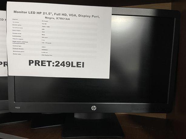 Monitor Led HP 21,5 inch, full HD, S.H.