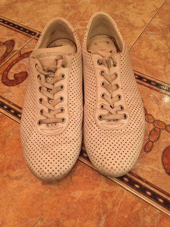 Dolce Gabbana спортно обувки от естествена кожа.