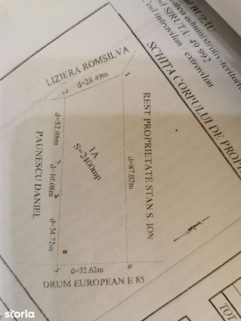 Teren activitati comerciale/industriale/, Maracineni -E 85