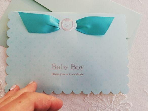 Покани за първи рожден ден на момче или бебешко парти