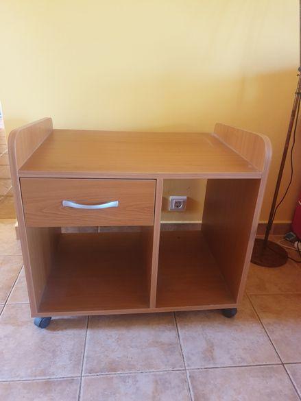 Шкаф за принтер на колелца