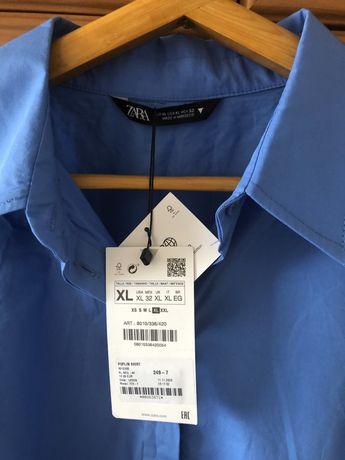 Продается женская рубашка Zara, новая, р-р 50-52