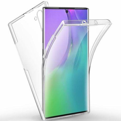 Силиконов 360° Градуса Кейс за Samsung Galaxy Note 10 / 10+ Note 8 / 9