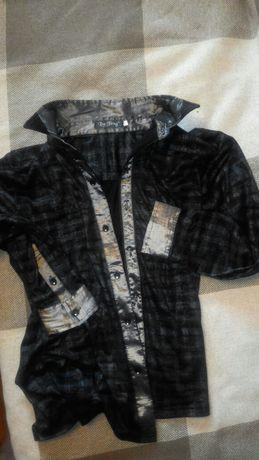 Продам рубашку подростковую праздничную, рост 150-160