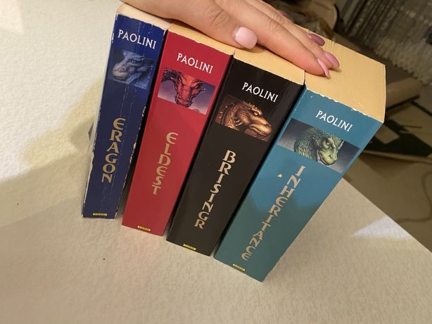 Книги на английском. Eragon Эрогон