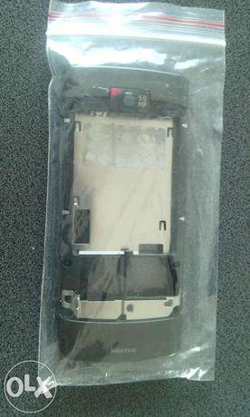 Mijloc carcasa swap original Nokia x3-02 gri
