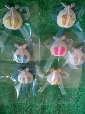 Ароматни Гипсови фигурки подарък загости новородено,погача,прощъпулник